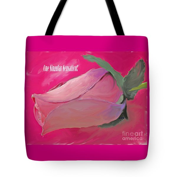 Tote Bag featuring the painting Every Move by Rita Brown