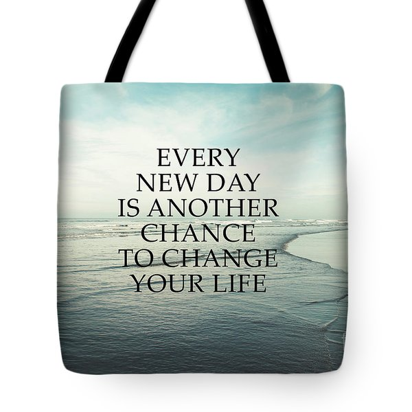 Tote Bag featuring the photograph Every New Day by Sylvia Cook