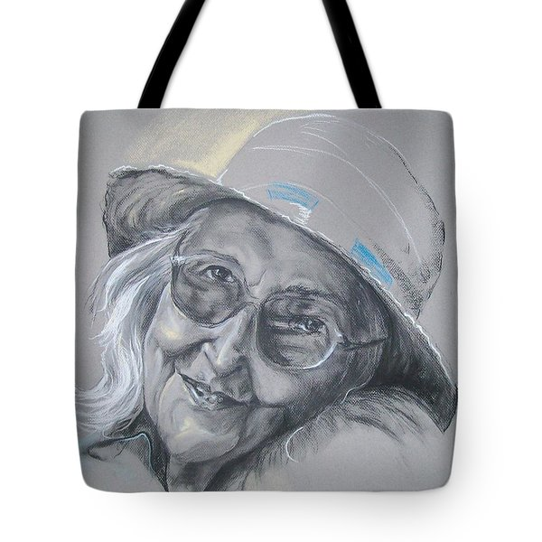 Everybodys Grandma Tote Bag by Peter Suhocke