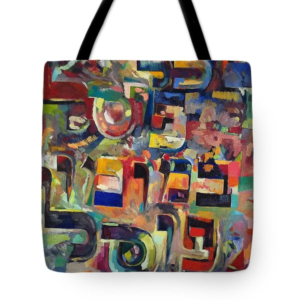 Everyone That Discounts Another It Is With His Own Fault That He Discounts The Other Tote Bag by David Baruch Wolk