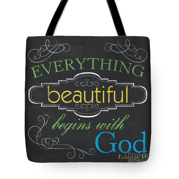 Everything Beautiful Tote Bag