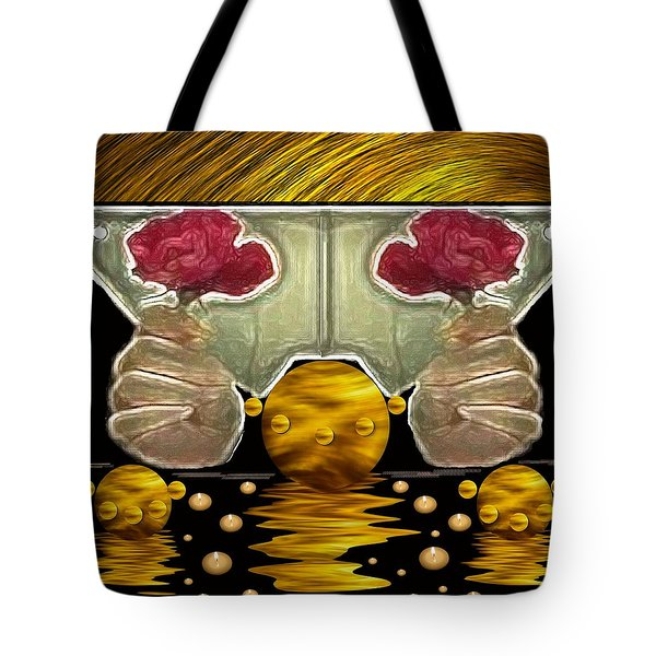 Everything Is In Order In The Universe Pop Art Tote Bag by Pepita Selles