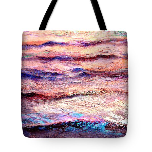 Everything Is Motion - Abstract Art Tote Bag by Jaison Cianelli
