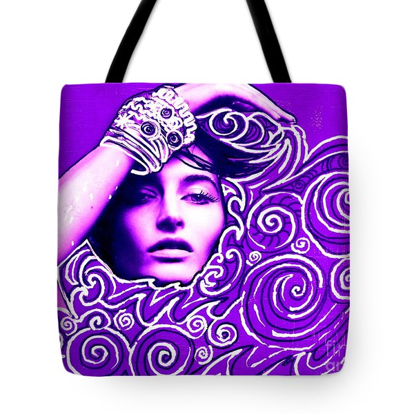 Everywhere You Look You See Yourself Tote Bag