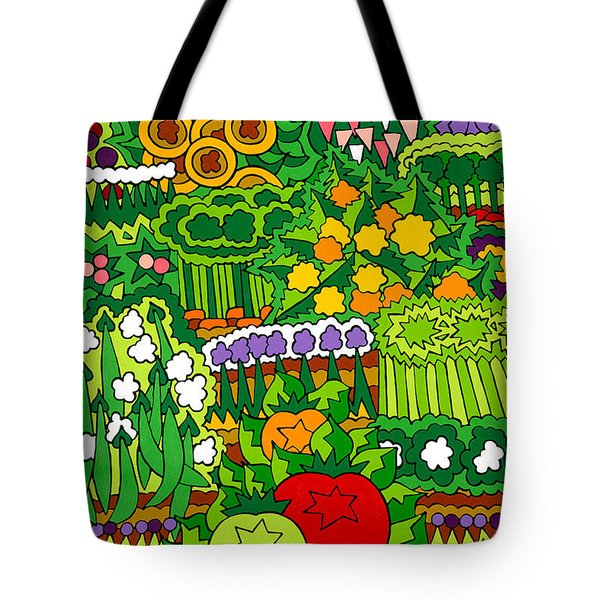 Eve's Garden Tote Bag by Rojax Art