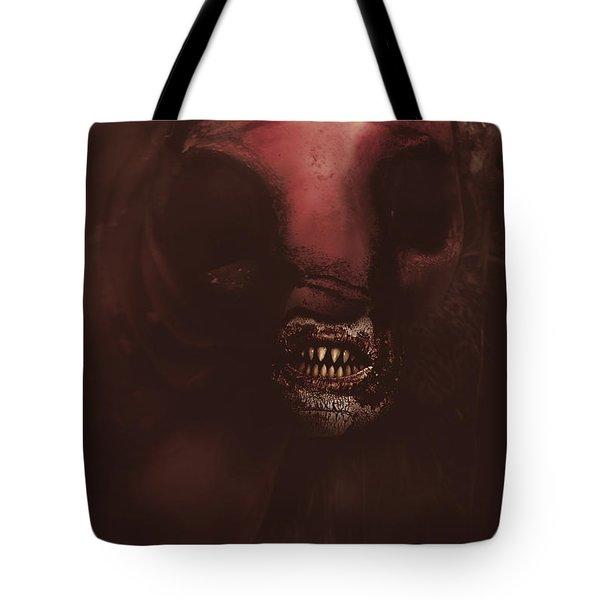 Evil Greek Mythology Minotaur Tote Bag
