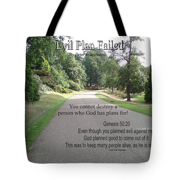 Evil Plan Failed Tote Bag