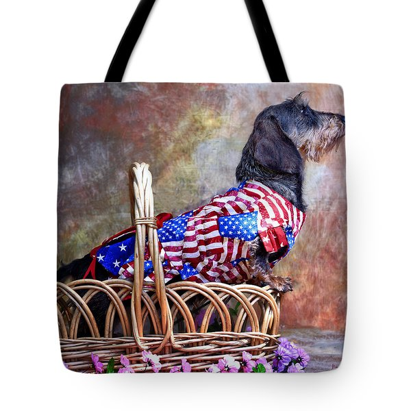 Tote Bag featuring the photograph Evita by Jim Thompson