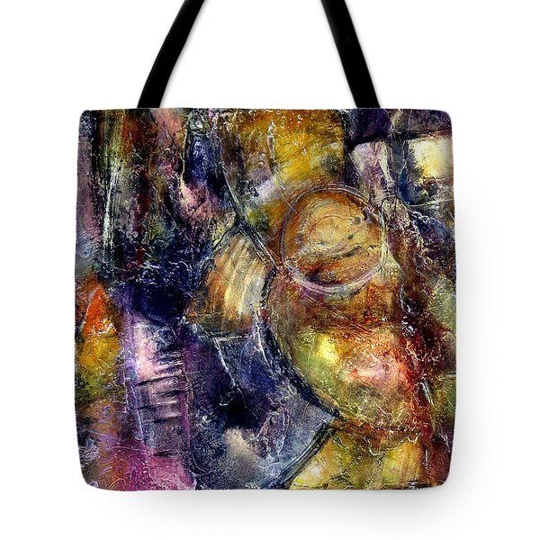 Tote Bag featuring the painting Evoke by Katie Black
