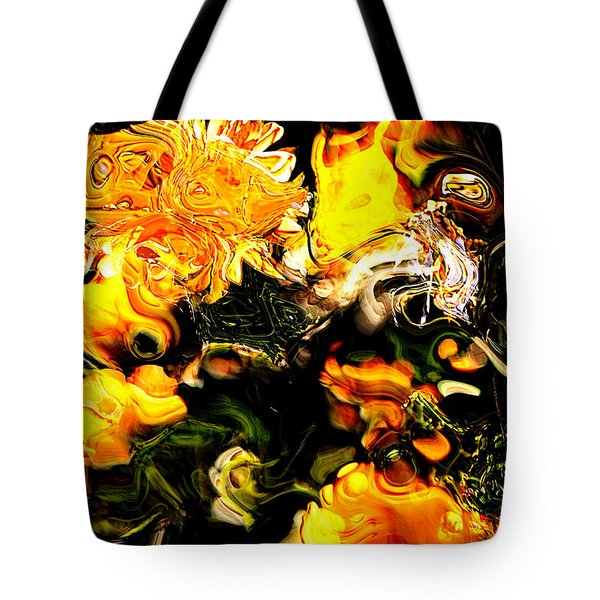Tote Bag featuring the digital art Ex Obscura by Richard Thomas