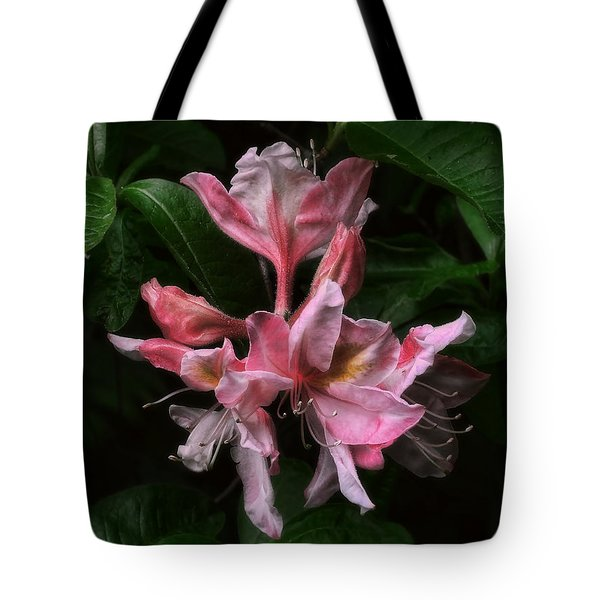 Exbury Azalea Tote Bag by Louise Kumpf