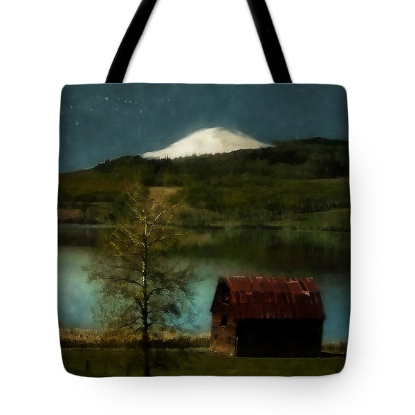 Excellence And Peace Tote Bag by RC DeWinter