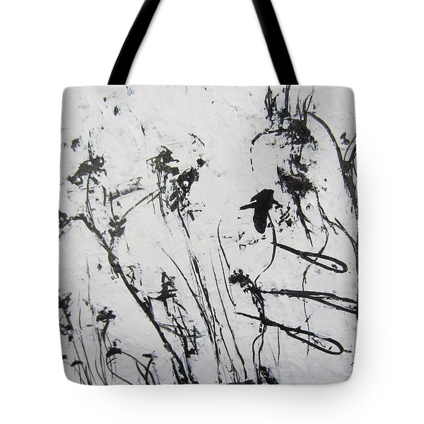 Excerpt 1 From Black And White 3 Tote Bag