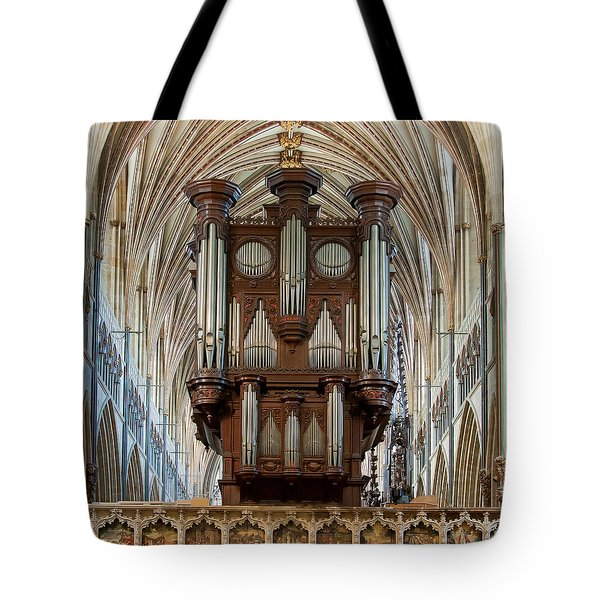 Exeter's King Of Instruments Tote Bag