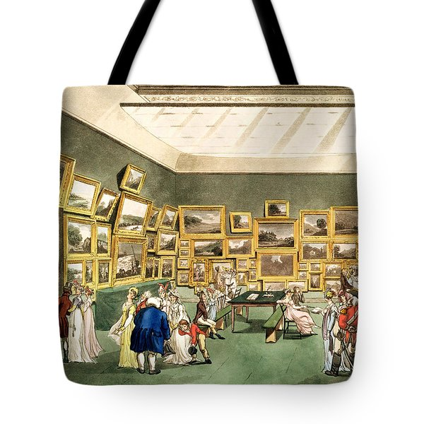 Exhibition Of Watercoloured Drawings Tote Bag