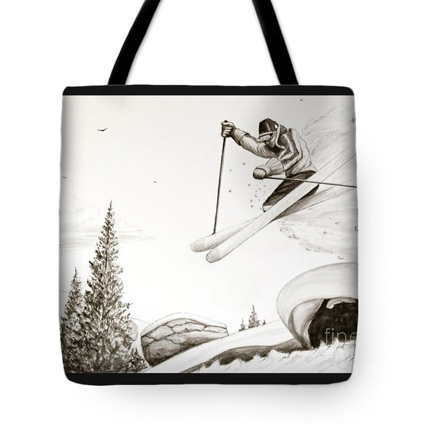 Exhilaration Tote Bag