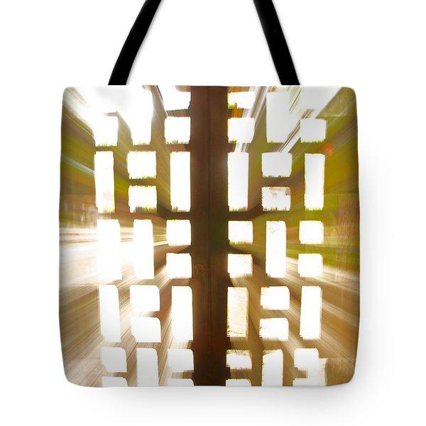Exit Doors Tote Bag by Stuart Litoff