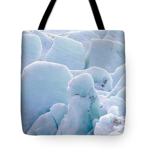 Exit Glacier At Harding Ice Field Tote Bag