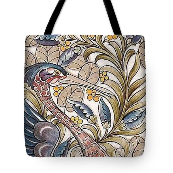 Exotic Bird Tote Bag by William Morris