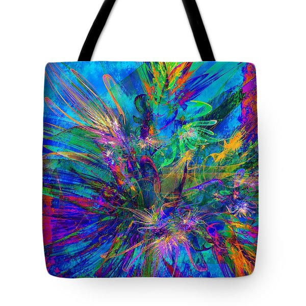 Exotic Dream Flower Tote Bag