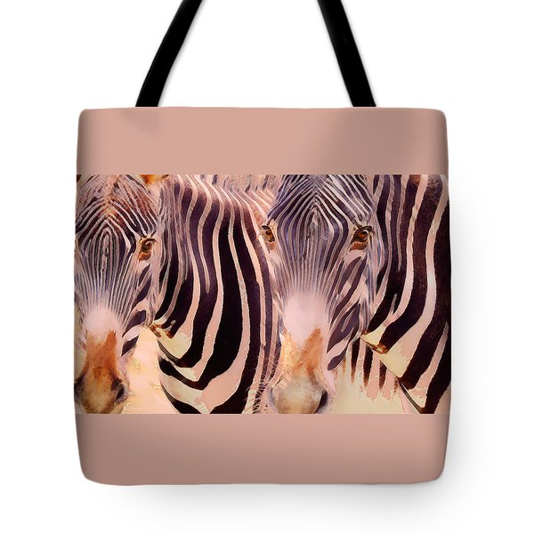 Exotic Friends Tote Bag