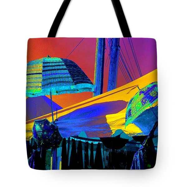 Exotic Parasols Tote Bag