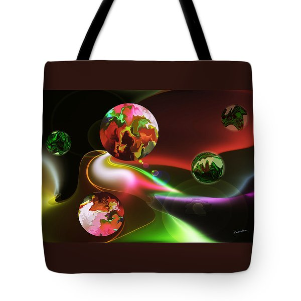 Exotic Worlds Tote Bag