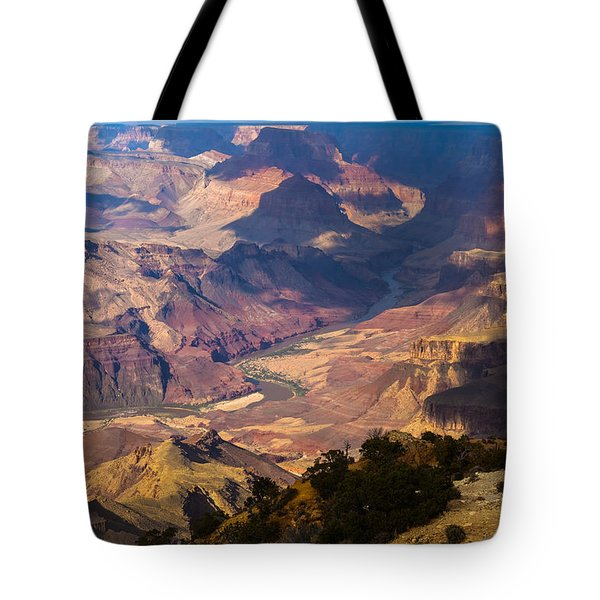 Expanse At Desert View Tote Bag by Ed Gleichman