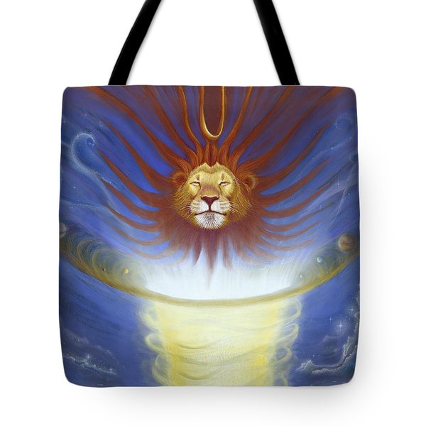 Expansive Lion Tote Bag