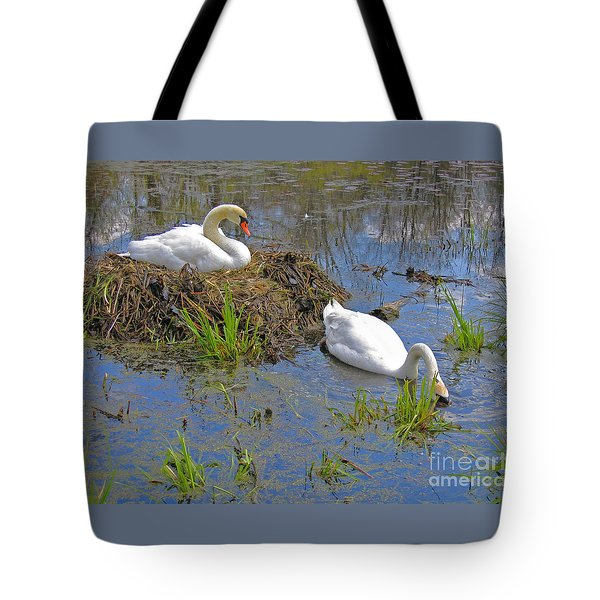 Expectant Tote Bag by Ann Horn
