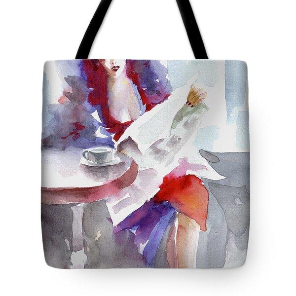 Expectation.. Tote Bag by Faruk Koksal
