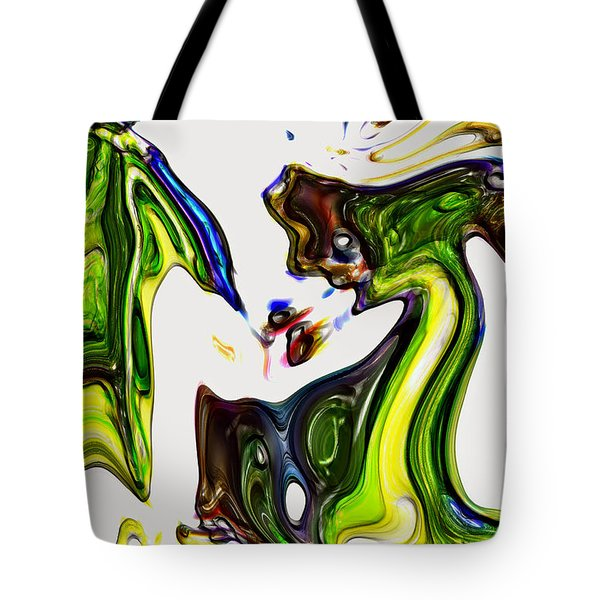 Tote Bag featuring the digital art Expectation by Richard Thomas