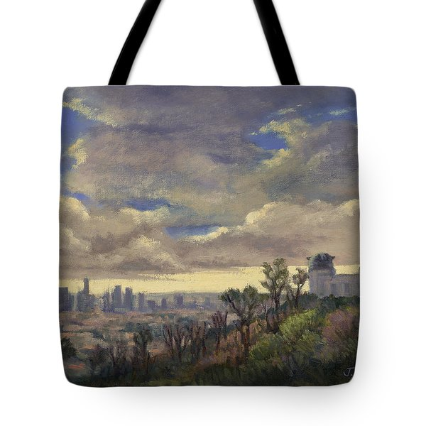 Expecting Rain Tote Bag