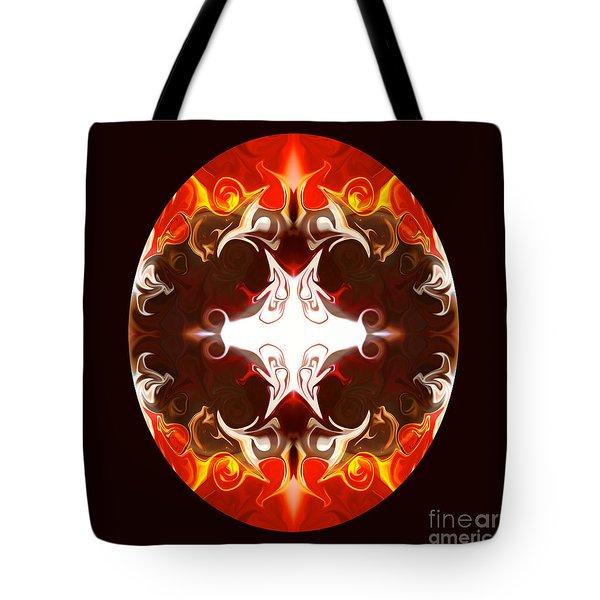 Exploding Consciousness Abstract Mandala Artwork By Omaste Witkowski Tote Bag by Omaste Witkowski