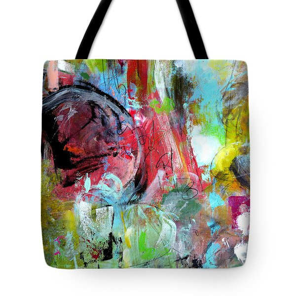 Tote Bag featuring the painting Exploration by Katie Black