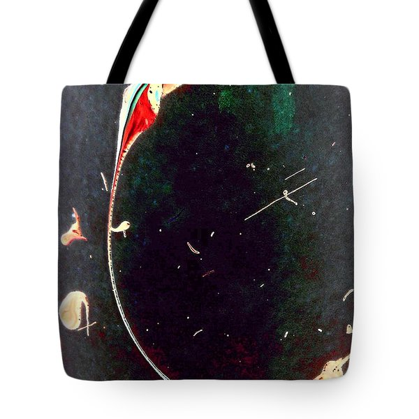 Tote Bag featuring the painting Exploring New Depths by Jacqueline McReynolds