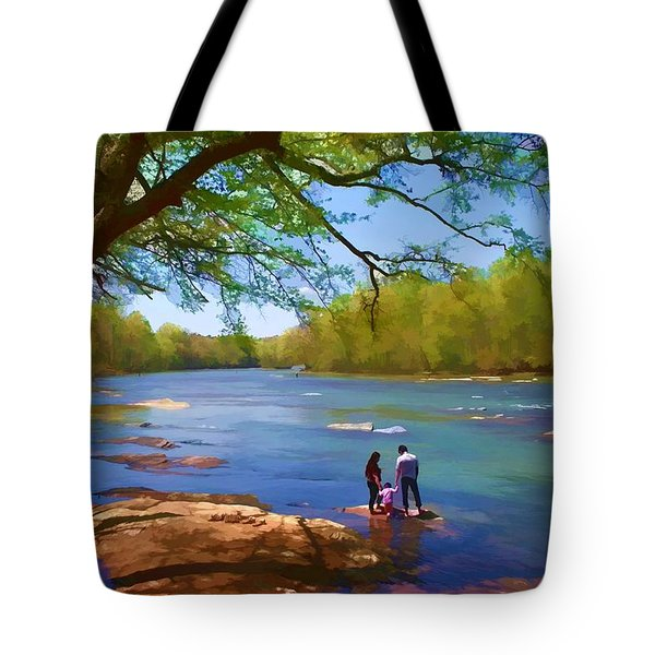 Exploring The River Tote Bag