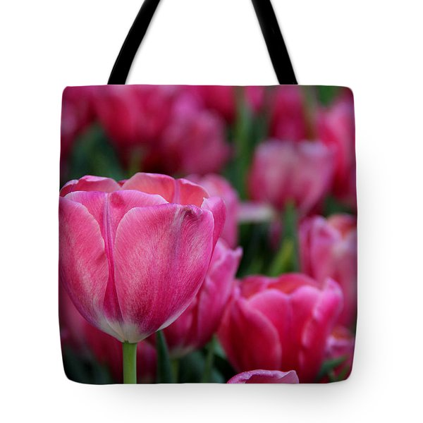 Tote Bag featuring the photograph Explosion Of Pink by Tammy Espino