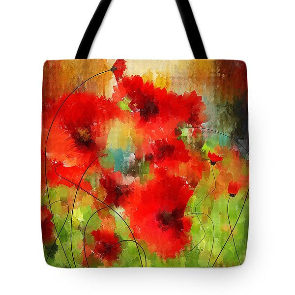 Explosions Galore Tote Bag by Lourry Legarde