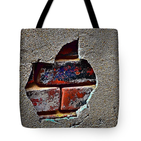 Tote Bag featuring the photograph Exposed Past 2a by Greg Jackson