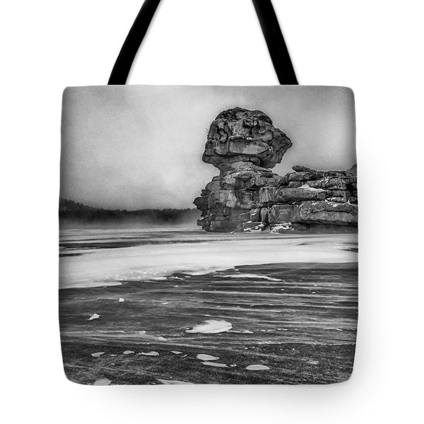 Exposed To Wind And Weather Tote Bag by Hayato Matsumoto