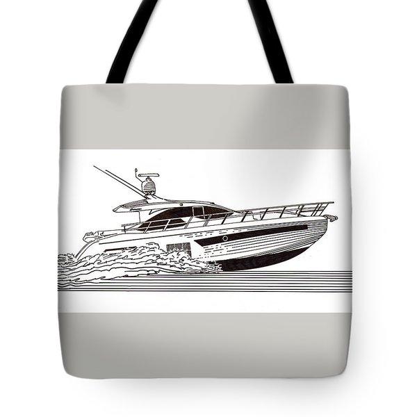 Express Sport Yacht Tote Bag by Jack Pumphrey