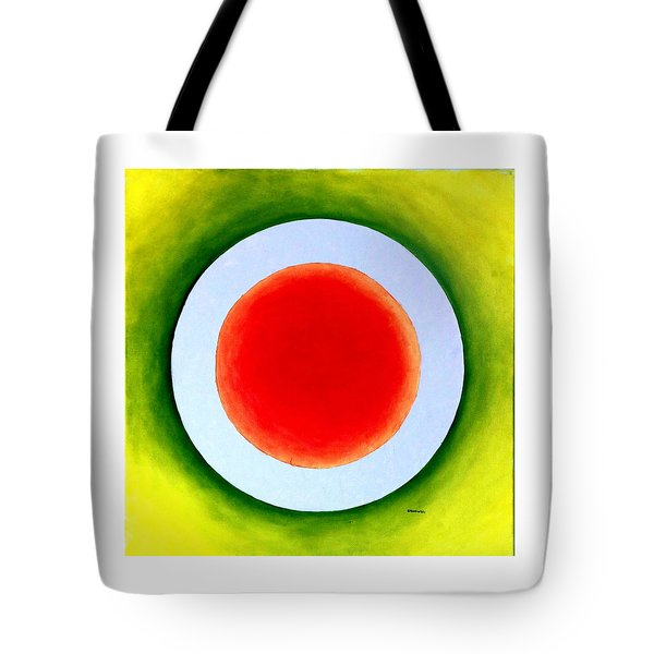 Tote Bag featuring the painting Express Yourself by Thomas Gronowski
