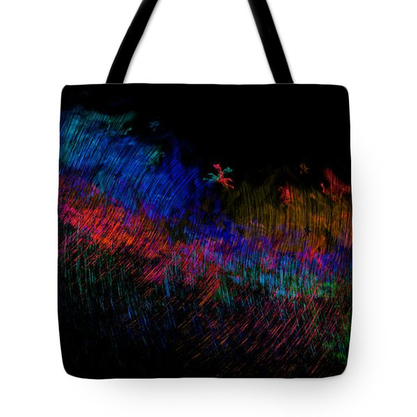Expressions Of Color Tote Bag by Christopher Gaston