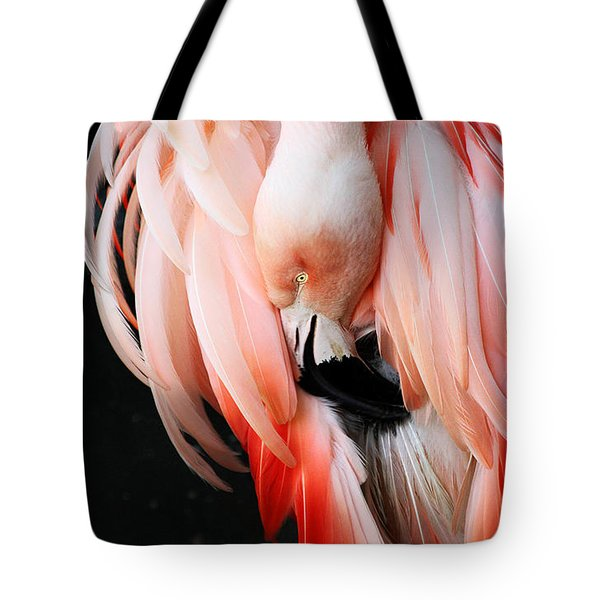 Exquisite Pink Flamingo #1 Tote Bag