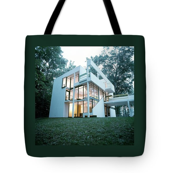 Exterior Of Mr. And Mrs. Jay Hanslemann's Tote Bag