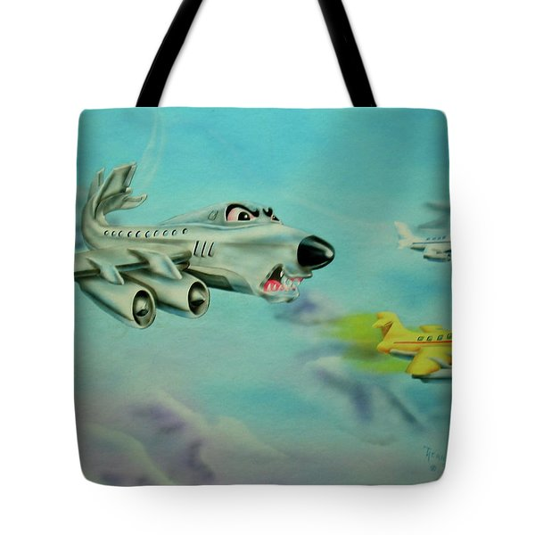 Extreme Airline Mergers Tote Bag