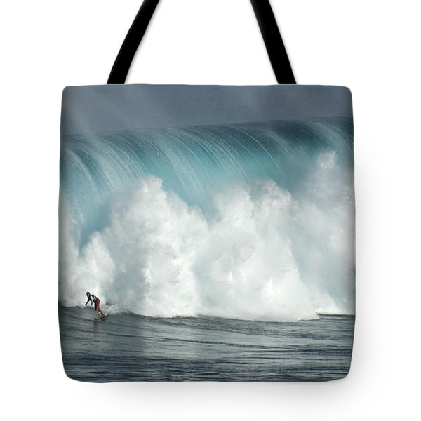Extreme Ways Of Living Tote Bag by Bob Christopher