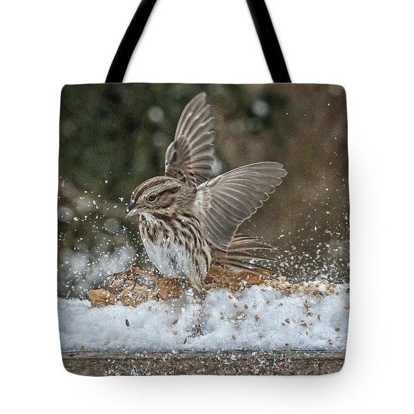 Exuberance Tote Bag by Jim Moore