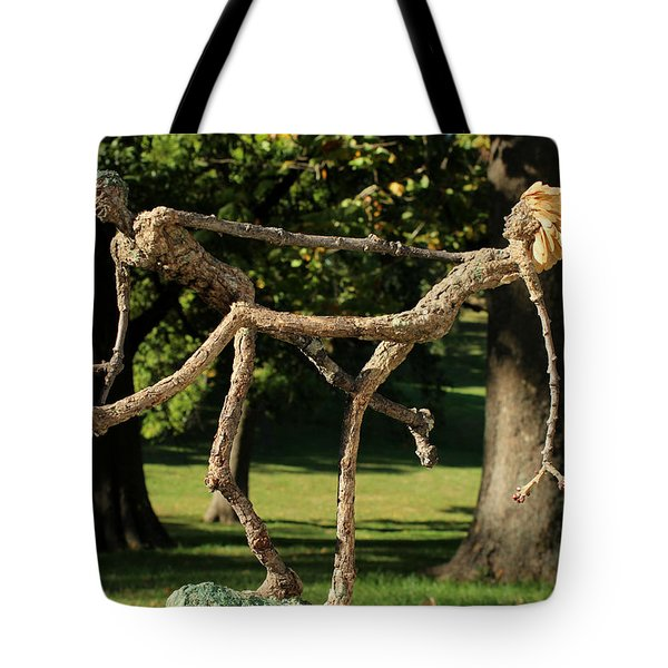 Exuberance Photographed Outside Tote Bag by Adam Long